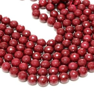 """Shop Jade Faceted Beads! CLEARANCE SALE – Fine unique jade beads,faceted beads,round gemstone beads,stone beads,beads for sale,bulk beads wholesale – 16"""" Full Strand 