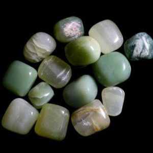 Shop Tumbled Jade Crystals & Pocket Stones! Nephrite Jade Tumbled | Natural genuine stones & crystals in various shapes & sizes. Buy raw cut, tumbled, or polished gemstones for making jewelry or crystal healing energy vibration raising reiki stones. #crystals #gemstones #crystalhealing #crystalsandgemstones #energyhealing #affiliate #ad