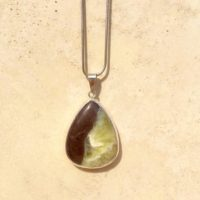 Gemstone Silver Pendant, Jasper Teardrop Pendant Or Necklace, Christmas Gift For Her | Natural genuine Gemstone jewelry. Buy crystal jewelry, handmade handcrafted artisan jewelry for women.  Unique handmade gift ideas. #jewelry #beadedjewelry #beadedjewelry #gift #shopping #handmadejewelry #fashion #style #product #jewelry #affiliate #ad