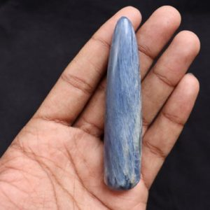 Shop Kyanite Points & Wands! Blue Kyanite crystal wand confidence stone, kyanite healing crystal blue natural crystal, rough kyanite, rough crystal, kyanite chakra | Natural genuine stones & crystals in various shapes & sizes. Buy raw cut, tumbled, or polished gemstones for making jewelry or crystal healing energy vibration raising reiki stones. #crystals #gemstones #crystalhealing #crystalsandgemstones #energyhealing #affiliate #ad