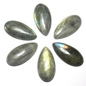 Shop Labradorite Cabochons! Stone – Labradorite cabochon B – drop 8741140029187 40x20mm | Natural genuine stones & crystals in various shapes & sizes. Buy raw cut, tumbled, or polished gemstones for making jewelry or crystal healing energy vibration raising reiki stones. #crystals #gemstones #crystalhealing #crystalsandgemstones #energyhealing #affiliate #ad