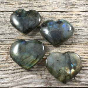 Shop Labradorite Shapes! 30mm Labradorite Heart – Labradorite Stone – Labradorite Crystal – Crystal Stone Heart – Healing Crystals and Stones – Gemcity | Natural genuine stones & crystals in various shapes & sizes. Buy raw cut, tumbled, or polished gemstones for making jewelry or crystal healing energy vibration raising reiki stones. #crystals #gemstones #crystalhealing #crystalsandgemstones #energyhealing #affiliate #ad
