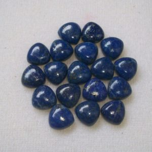 Shop Lapis Lazuli Cabochons! 10mm Lapis Lazuli Cabochon Trillion Gemstone, Lapis Lazuli Trillion Cabochon Gemstone, Lapis Cabochon Trillion Gemstone | Natural genuine stones & crystals in various shapes & sizes. Buy raw cut, tumbled, or polished gemstones for making jewelry or crystal healing energy vibration raising reiki stones. #crystals #gemstones #crystalhealing #crystalsandgemstones #energyhealing #affiliate #ad