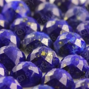 Shop Lapis Lazuli Stones & Crystals! Lapis Lazuli Rose Cut Cabochon 6mm Round – per stone | Natural genuine stones & crystals in various shapes & sizes. Buy raw cut, tumbled, or polished gemstones for making jewelry or crystal healing energy vibration raising reiki stones. #crystals #gemstones #crystalhealing #crystalsandgemstones #energyhealing #affiliate #ad