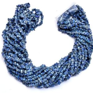 Shop Lapis Lazuli Chip & Nugget Beads! Lapis Lazuli Gemstone Uncut Chips 4mm Beads Necklace | 35inch Strand | Lapis Semi Precious Gemstone Smooth Nuggets | Jewelry Making Supplies | Natural genuine chip Lapis Lazuli beads for beading and jewelry making.  #jewelry #beads #beadedjewelry #diyjewelry #jewelrymaking #beadstore #beading #affiliate #ad