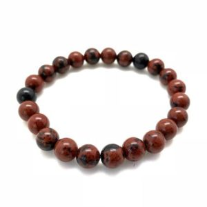 Shop Mahogany Obsidian Bracelets! mahogany obsidian bracelet 8mm – elastic bracelet – mahogany obsidian sphere – healing crystals and stones – grounding – mahogany obsidian   Natural genuine Mahogany Obsidian bracelets. Buy crystal jewelry, handmade handcrafted artisan jewelry for women.  Unique handmade gift ideas. #jewelry #beadedbracelets #beadedjewelry #gift #shopping #handmadejewelry #fashion #style #product #bracelets #affiliate #ad