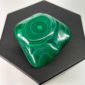 Shop Malachite Shapes! Malachite Polished Piece – 3.4 oz. | Natural genuine stones & crystals in various shapes & sizes. Buy raw cut, tumbled, or polished gemstones for making jewelry or crystal healing energy vibration raising reiki stones. #crystals #gemstones #crystalhealing #crystalsandgemstones #energyhealing #affiliate #ad