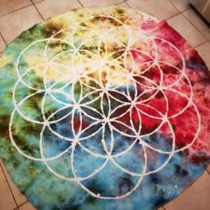 Shop Crystal Healing Charging Plates & Crystal Grid Mats! Meditation Mat, Flower of Life Mat, Asana Practice, Sigil Craft, Runes, Chakra Balancing, Astral Projection, Temple Space, Sacred Geometry | Shop jewelry making and beading supplies, tools & findings for DIY jewelry making and crafts. #jewelrymaking #diyjewelry #jewelrycrafts #jewelrysupplies #beading #affiliate #ad