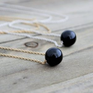 Shop Black Tourmaline Necklaces! Minimalist Black Tourmaline Necklace, Healing Crystal Necklaces For Women, October Birthstone Jewelry   Natural genuine Black Tourmaline necklaces. Buy crystal jewelry, handmade handcrafted artisan jewelry for women.  Unique handmade gift ideas. #jewelry #beadednecklaces #beadedjewelry #gift #shopping #handmadejewelry #fashion #style #product #necklaces #affiliate #ad