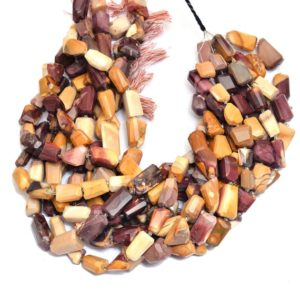 """Shop Mookaite Jasper Chip & Nugget Beads! Mookaite Gemstone 12mm-18mm Faceted Nugget Beads   AAA Mookaite Step Cut Tumbled   Natural Semi Precious Rare Beads for Jewelry   15"""" Strand   Natural genuine chip Mookaite Jasper beads for beading and jewelry making.  #jewelry #beads #beadedjewelry #diyjewelry #jewelrymaking #beadstore #beading #affiliate #ad"""