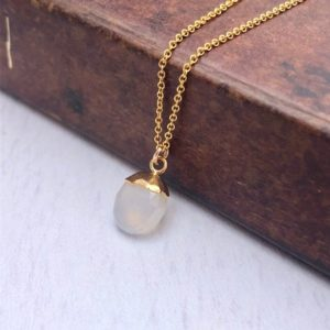 Shop Moonstone Pendants! Moonstone Necklace, White Oval Pendant, Silky Moonstone Gold Minimalist Necklace, June Birthstone, Moonstone Layering Jewelry Gift for women | Natural genuine Moonstone pendants. Buy crystal jewelry, handmade handcrafted artisan jewelry for women.  Unique handmade gift ideas. #jewelry #beadedpendants #beadedjewelry #gift #shopping #handmadejewelry #fashion #style #product #pendants #affiliate #ad