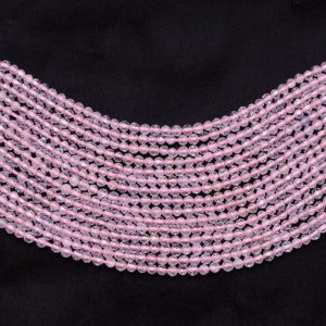 Shop Morganite Faceted Beads! Natural AAA+ Morganite Gemstone 2mm-3mm Micro Faceted Rondelle Beads | Pink Morganite Semi Precious Gemstone  Loose Beads | 13inch Strand | Natural genuine faceted Morganite beads for beading and jewelry making.  #jewelry #beads #beadedjewelry #diyjewelry #jewelrymaking #beadstore #beading #affiliate #ad