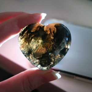 Shop Moss Agate Shapes! You Choose! Moss Agate Heart | Agate Crystal Heart | Natural genuine stones & crystals in various shapes & sizes. Buy raw cut, tumbled, or polished gemstones for making jewelry or crystal healing energy vibration raising reiki stones. #crystals #gemstones #crystalhealing #crystalsandgemstones #energyhealing #affiliate #ad