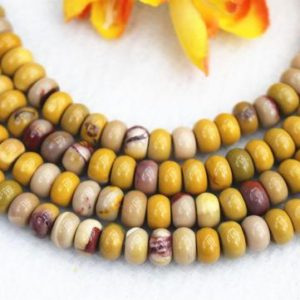 """Natura Mookaite Jasper Rondelle beads 4x6mm 5x8mm Mookaite Jasper beads wholesale,beads supply 15"""" strand 