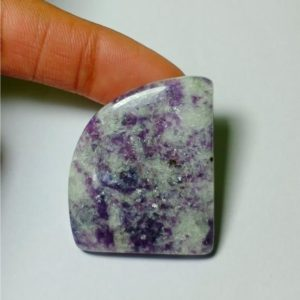 Shop Lepidolite Cabochons! Natural Lepidolite Cabochons,Lepidolite Gemstone,Lepidolite  Loose Stone,Lepidolite Semi Precious,Lepidolite jewelry Making  87Cts.40X33MM | Natural genuine stones & crystals in various shapes & sizes. Buy raw cut, tumbled, or polished gemstones for making jewelry or crystal healing energy vibration raising reiki stones. #crystals #gemstones #crystalhealing #crystalsandgemstones #energyhealing #affiliate #ad