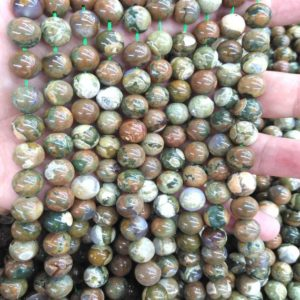 Shop Rainforest Jasper Bracelets! Natural Rainforest Rhyolite Beads Genuine  Gemstone Round Ball Loose Beads  4mm 6mm 8mm 10mm  for earrings-bracelet – necklace 16inch   Natural genuine Rainforest Jasper bracelets. Buy crystal jewelry, handmade handcrafted artisan jewelry for women.  Unique handmade gift ideas. #jewelry #beadedbracelets #beadedjewelry #gift #shopping #handmadejewelry #fashion #style #product #bracelets #affiliate #ad