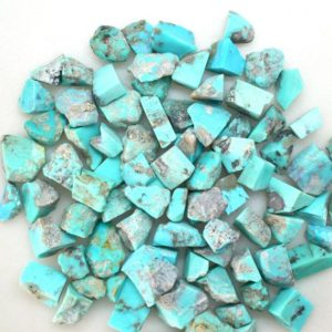 Shop Turquoise Stones & Crystals! Natural Turquoise Raw Gemstone, Bulk Raw Rough Gemstone, Healing Raw Rough Stone For Sale, 100 Gram Pack | Natural genuine stones & crystals in various shapes & sizes. Buy raw cut, tumbled, or polished gemstones for making jewelry or crystal healing energy vibration raising reiki stones. #crystals #gemstones #crystalhealing #crystalsandgemstones #energyhealing #affiliate #ad