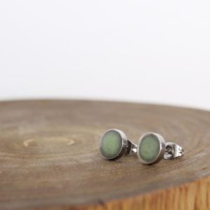 New Jade Earrings – Serpentine Earrings – Chakra Earrings – Balance Jewelry | Natural genuine Serpentine earrings. Buy crystal jewelry, handmade handcrafted artisan jewelry for women.  Unique handmade gift ideas. #jewelry #beadedearrings #beadedjewelry #gift #shopping #handmadejewelry #fashion #style #product #earrings #affiliate #ad