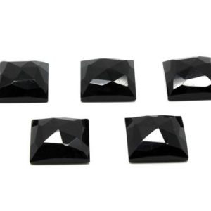 Shop Onyx Cabochons! Large square cabochons,faceted cabochons,black gemstones,black onyx,onyx cabochons,rose cut cabochons,diy gemstones wholesale,AA Quality | Natural genuine stones & crystals in various shapes & sizes. Buy raw cut, tumbled, or polished gemstones for making jewelry or crystal healing energy vibration raising reiki stones. #crystals #gemstones #crystalhealing #crystalsandgemstones #energyhealing #affiliate #ad