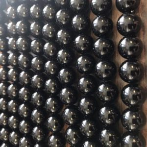 Shop Onyx Round Beads! Black Onyx 4mm 6mm 8mm 10mm 12mm 14mm Round Gemstone Beads~ -15.5  inch strand- | Natural genuine round Onyx beads for beading and jewelry making.  #jewelry #beads #beadedjewelry #diyjewelry #jewelrymaking #beadstore #beading #affiliate #ad