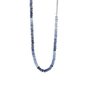 Shop Iolite Necklaces! Penumbra necklace, silver and iolite necklace,  silver necklace, iolitei pendant | Natural genuine Iolite necklaces. Buy crystal jewelry, handmade handcrafted artisan jewelry for women.  Unique handmade gift ideas. #jewelry #beadednecklaces #beadedjewelry #gift #shopping #handmadejewelry #fashion #style #product #necklaces #affiliate #ad