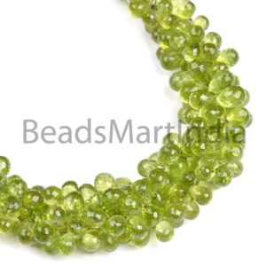 Shop Peridot Faceted Beads! Peridot Faceted Drop Shape Beads, Peridot Side Drill Drop Shape Beads, Peridot Faceted Beads, Peridot Beads, AAA Quality Peridot Beads | Natural genuine faceted Peridot beads for beading and jewelry making.  #jewelry #beads #beadedjewelry #diyjewelry #jewelrymaking #beadstore #beading #affiliate #ad