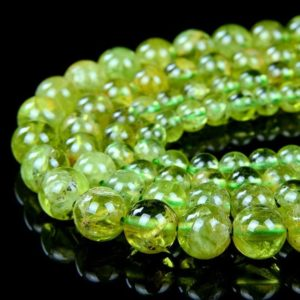 Shop Peridot Round Beads! Genuine Natural Peridot Rare Gemstone Grade Aa Green 2mm 3mm 4mm 5mm 6mm Round Loose Beads (168) | Natural genuine round Peridot beads for beading and jewelry making.  #jewelry #beads #beadedjewelry #diyjewelry #jewelrymaking #beadstore #beading #affiliate #ad