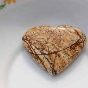 Shop Picture Jasper Shapes! A++ Beautiful Picture Jasper heart stone, Picture Jasper Natural heart stone, Healing Crystal, Meditation, Power Stone, healing stone   Natural genuine stones & crystals in various shapes & sizes. Buy raw cut, tumbled, or polished gemstones for making jewelry or crystal healing energy vibration raising reiki stones. #crystals #gemstones #crystalhealing #crystalsandgemstones #energyhealing #affiliate #ad