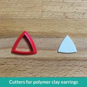 Shop Polymer Clay Cutters & Jewelry Making Tools! Polymer Clay Earrings Cutter – Curved Triangle | Geometric shape | Shop jewelry making and beading supplies, tools & findings for DIY jewelry making and crafts. #jewelrymaking #diyjewelry #jewelrycrafts #jewelrysupplies #beading #affiliate #ad