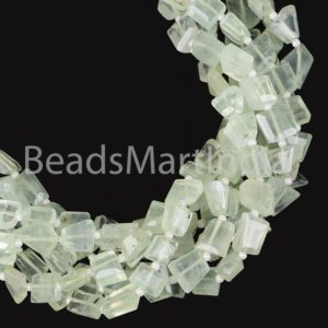 Shop Prehnite Chip & Nugget Beads! Prehnite Faceted Nugget Fancy Beads, Prehnite Nugget Beads, Prehnite Faceted Nuggets Beads, Prehnite Nugget Fancy Beads, Prehnite Beads | Natural genuine chip Prehnite beads for beading and jewelry making.  #jewelry #beads #beadedjewelry #diyjewelry #jewelrymaking #beadstore #beading #affiliate #ad