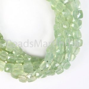 Shop Prehnite Faceted Beads! Prehnite Faceted Box Shape Beads, Natural Prehnite Box Shape  Beads, Prehnite Faceted Beads, Prehnite Box Shape Beads, Prehnite Beads | Natural genuine faceted Prehnite beads for beading and jewelry making.  #jewelry #beads #beadedjewelry #diyjewelry #jewelrymaking #beadstore #beading #affiliate #ad