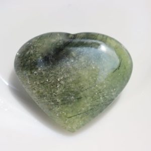 Shop Prehnite Shapes! EPIDOTE in PREHNITE Crystal heart Stone  Healing Crystals and Stones Prehnite heart Stone, Prehnite Crystal, Prehnite heart Stone, Christmas | Natural genuine stones & crystals in various shapes & sizes. Buy raw cut, tumbled, or polished gemstones for making jewelry or crystal healing energy vibration raising reiki stones. #crystals #gemstones #crystalhealing #crystalsandgemstones #energyhealing #affiliate #ad