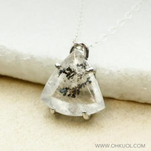 Shop Quartz Crystal Necklaces! Teardrop Dendritic Quartz Necklace, Dendrite Quartz, Tree Branch Quartz | Natural genuine Quartz necklaces. Buy crystal jewelry, handmade handcrafted artisan jewelry for women.  Unique handmade gift ideas. #jewelry #beadednecklaces #beadedjewelry #gift #shopping #handmadejewelry #fashion #style #product #necklaces #affiliate #ad