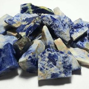 Shop Raw & Rough Sodalite Stones! Raw Sodalite rough sodalite healing crystal,sodalite crystal,Sodalite Gemstone, Sodalite Slices,Sodalite Specimens, Sodalite Raw Materials | Natural genuine stones & crystals in various shapes & sizes. Buy raw cut, tumbled, or polished gemstones for making jewelry or crystal healing energy vibration raising reiki stones. #crystals #gemstones #crystalhealing #crystalsandgemstones #energyhealing #affiliate #ad