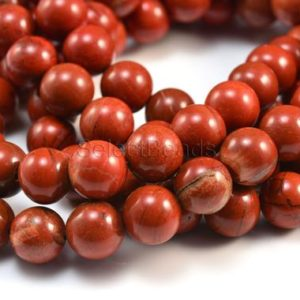 red jasper beads – jasper stone beads – natural gemstone beads – wholesale beads and charms – red beads – round beads  – 4-20mm – 15 inch | Natural genuine beads Gemstone beads for beading and jewelry making.  #jewelry #beads #beadedjewelry #diyjewelry #jewelrymaking #beadstore #beading #affiliate #ad