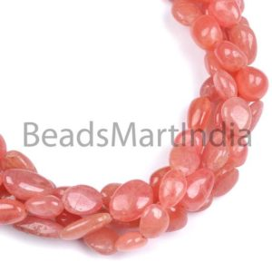 Shop Rhodochrosite Chip & Nugget Beads! Rhodochrosite Plain Nugget Beads,Rhodochrosite Smooth Beads,Rhodochrosite Beads,Rhodochrosite Extra Fine Nugget Beads, Rhodochrosite Nugget | Natural genuine chip Rhodochrosite beads for beading and jewelry making.  #jewelry #beads #beadedjewelry #diyjewelry #jewelrymaking #beadstore #beading #affiliate #ad