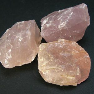 Shop Raw & Rough Rose Quartz Stones! Symbol of Love and Beauty!!  Lot of Three Rough Rose Quartz From Madagascar | Natural genuine stones & crystals in various shapes & sizes. Buy raw cut, tumbled, or polished gemstones for making jewelry or crystal healing energy vibration raising reiki stones. #crystals #gemstones #crystalhealing #crystalsandgemstones #energyhealing #affiliate #ad