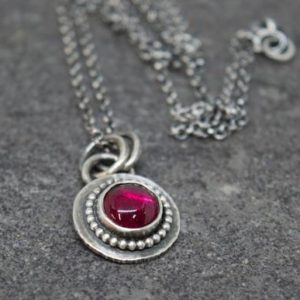 Shop Ruby Necklaces! Ruby necklace – Silver Ruby Necklace | Natural genuine Ruby necklaces. Buy crystal jewelry, handmade handcrafted artisan jewelry for women.  Unique handmade gift ideas. #jewelry #beadednecklaces #beadedjewelry #gift #shopping #handmadejewelry #fashion #style #product #necklaces #affiliate #ad