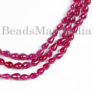 Shop Ruby Bead Shapes! Ruby Necklace, Ruby Smooth Necklace, Ruby Beads, Ruby Smooth Beads, Ruby Straight Drill Drops Beads, Ruby Plain Beads,Ruby Plain Drops Beads   Natural genuine other-shape Ruby beads for beading and jewelry making.  #jewelry #beads #beadedjewelry #diyjewelry #jewelrymaking #beadstore #beading #affiliate #ad