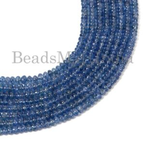 Shop Sapphire Rondelle Beads! Burma Sapphire Plain  Rondelle Gemstone Beads, Burma Sapphire Beads, Burma Sapphire Rondelle Beads,Burma Blue Sapphire Beads,Sapphire Beads | Natural genuine rondelle Sapphire beads for beading and jewelry making.  #jewelry #beads #beadedjewelry #diyjewelry #jewelrymaking #beadstore #beading #affiliate #ad