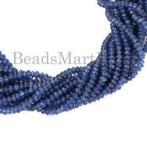 Shop Sapphire Rondelle Beads! Burma Sapphire Plain Gemstone Beads, Burma Sapphire Rondelle Beads, Burma Sapphire Rondelle Smooth Beads,Burma Blue Sapphire Beads | Natural genuine rondelle Sapphire beads for beading and jewelry making.  #jewelry #beads #beadedjewelry #diyjewelry #jewelrymaking #beadstore #beading #affiliate #ad