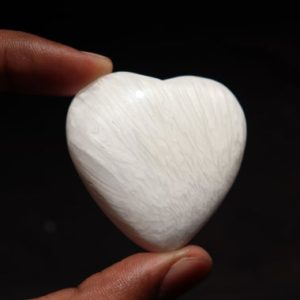 Shop Scolecite Shapes! Scolecite heart Stone / Scolecite Crystal – Cristal Polished Gemstone   Scolecite Stone Crystal heart stone (Healing Crystals and Stones)   Natural genuine stones & crystals in various shapes & sizes. Buy raw cut, tumbled, or polished gemstones for making jewelry or crystal healing energy vibration raising reiki stones. #crystals #gemstones #crystalhealing #crystalsandgemstones #energyhealing #affiliate #ad