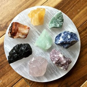 Shop Crystal Healing Charging Plates & Crystal Grid Mats! Selenite Plate Disk, Selenite Charging Plate, Polished Stone Disk, Home Décor, Charging stone, Crystals Healing, Reiki Energy | Shop jewelry making and beading supplies, tools & findings for DIY jewelry making and crafts. #jewelrymaking #diyjewelry #jewelrycrafts #jewelrysupplies #beading #affiliate #ad