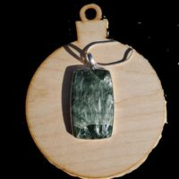 Seraphinite Pendant – Seraphinite Crystal – Pendant – Septarian – Seraphinite Stone – Clinochlore -angel Wings Stone – Heart Chakra Stone | Natural genuine Gemstone jewelry. Buy crystal jewelry, handmade handcrafted artisan jewelry for women.  Unique handmade gift ideas. #jewelry #beadedjewelry #beadedjewelry #gift #shopping #handmadejewelry #fashion #style #product #jewelry #affiliate #ad