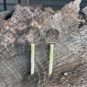 Shop Serpentine Earrings! Serpentine earrings | Natural genuine Serpentine earrings. Buy crystal jewelry, handmade handcrafted artisan jewelry for women.  Unique handmade gift ideas. #jewelry #beadedearrings #beadedjewelry #gift #shopping #handmadejewelry #fashion #style #product #earrings #affiliate #ad