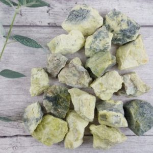Shop Raw & Rough Serpentine Stones! Serpentine Natural Stones, Reiki Infused Wire Wrapping Healing Stones | Natural genuine stones & crystals in various shapes & sizes. Buy raw cut, tumbled, or polished gemstones for making jewelry or crystal healing energy vibration raising reiki stones. #crystals #gemstones #crystalhealing #crystalsandgemstones #energyhealing #affiliate #ad