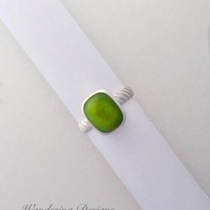 Shop Serpentine Rings! Serpentine Ring, Sterling Silver Jewelry, Ring, Wandering Designs, Silversmith, Fashion, Handmade, Gemstone, Artisan Jewelry, Green | Natural genuine Serpentine rings, simple unique handcrafted gemstone rings. #rings #jewelry #shopping #gift #handmade #fashion #style #affiliate #ad