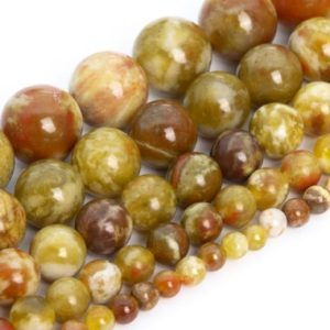 Shop Serpentine Beads! Yellow Green Serpentine Beads Genuine Natural Russia Grade Aaa Gemstone Round Loose Beads 4mm 6mm 8mm 10mm 12mmbulk Lot Options | Natural genuine beads Serpentine beads for beading and jewelry making.  #jewelry #beads #beadedjewelry #diyjewelry #jewelrymaking #beadstore #beading #affiliate #ad