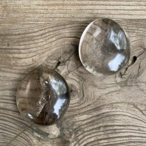 Shop Smoky Quartz Shapes! Smoky quartz palm stones WS9424L WS9424M | Natural genuine stones & crystals in various shapes & sizes. Buy raw cut, tumbled, or polished gemstones for making jewelry or crystal healing energy vibration raising reiki stones. #crystals #gemstones #crystalhealing #crystalsandgemstones #energyhealing #affiliate #ad