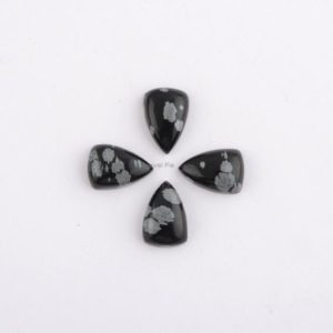 Snowflake Obsidian Cabochon Loose gemstones, Calibrated Cabochons, 8x12mm Pear shape Gemstones AAA Grade, Wholesale Gemstone – 4 Pcs | Natural genuine stones & crystals in various shapes & sizes. Buy raw cut, tumbled, or polished gemstones for making jewelry or crystal healing energy vibration raising reiki stones. #crystals #gemstones #crystalhealing #crystalsandgemstones #energyhealing #affiliate #ad